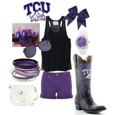 TCU game day  a little bit overstated but i can make it work <3