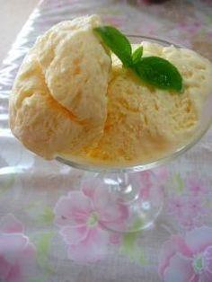 豆乳アイスクリーム'計量カップレシピで簡単)