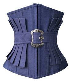 Cheap corset back prom dress, Buy Quality corset brocade directly from China corset vest Suppliers: Women's Underbust Corset Denim Corset Sexy Effect Pleated Waist Trainer Corset Body Shapewear Bustiers Waist Cincher for Women Corset Underbust, Denim Corset, Black Corset, Bustiers, Denim Fashion, Fashion Outfits, Womens Fashion, Emo Fashion, Fashion Brand