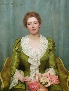 Serenity (1890),Louise Jopling (1843–1933) | Art UK