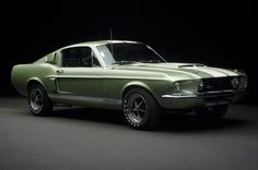 1967 Ford Mustang Shelby GT 500 I want one.mom thats your color! Ford Mustang Shelby Gt500, 1967 Shelby Gt500, Ford Shelby, Mustang Cars, 1967 Mustang, Ford Mustangs, Ferrari, Ford Classic Cars, Us Cars