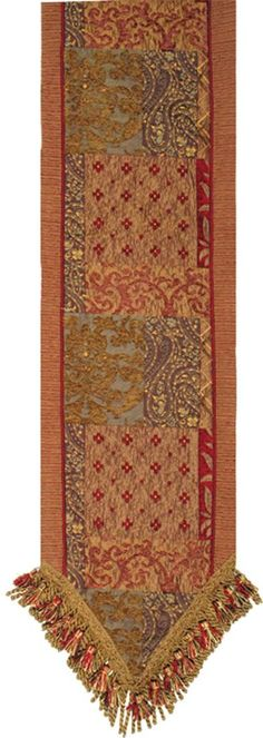 Luxury Bedding Solutions - Caravan 16x90 Table Runner 2603, $242.99 (http://www.luxurybeddingsolutions.com/caravan-16x90-table-runner-2603/)