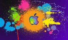 neon colors background - Google Search