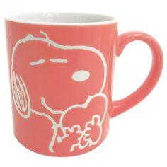 スヌーピー マグカップ ビーグルハグ(ブラウン) | スヌーピーグッズ公式通販サイト - おかいものSNOOPY