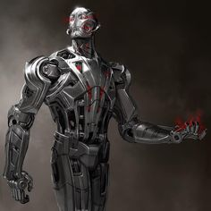 """Here's a design for Ultron, Charlie Wen did the awesome final design!  #Ultron #avengersageofultron #avengersassemble #avengers2 #avengerscomics #mcu…"""