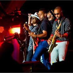 Bruno Mars and the Hooligans en Rock In Rio Las Vegas 17 mayo 2015