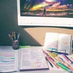 ||| school, college, university, notes, notebook, inspiration, inspo…