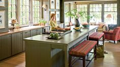 Make It Feel Rustic | These lake house decorating ideas will help create a serene oasis, expertly blending with the beauty of nature all around. There's something so nostalgic about lake houses—memories of hot summers spent by the lake, autumn getaways to see the rich fall foliage. Lake houses are the de facto settings for big family gatherings, girlfriend getaways, and celebratory weekends. So shouldn't a lake house be a place that draws people in, wraps them up, and invites them to stay a