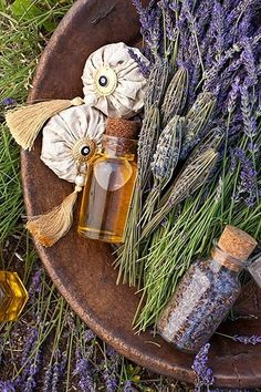 [ Lavender: Ice Cream Recipe ] Not just for soaps, sprays, and sachet bags… Lavender Ice Cream, Lavender Cottage, Lavender Garden, Lavender Blue, Lavender Fields, Lavender Flowers, Lavender Sachets, Lavender Wands, Lavender Crafts