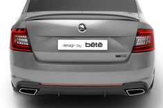ŠKODA Octavia III RS Carbon Pack. / ŠKODA Octavia III RS s karbonovým paketem. #ŠKODA #Octavia #RS #carbon #karbon #pack #paket #design #bété Bmw E46, Tattoo, Cars, Cover, Design, Sports, Automobile, Autos