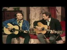 """Sing Me Back Home -   """"The Working Man's Poet"""" and """"The Man In Black""""  Merle Haggard and Johnny Cash were the best of friends. Merle still performs a couple of Johnny's songs in concert."""