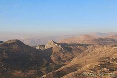 High mountains above Tannourine