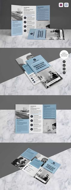 Brochure Template InDesign INDD A4
