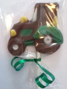 24 Tractor, Farm, Animal, Barnyard Party Chocolate Lollipop Favor