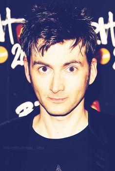 So I showed a picture of David Tennant to my non-whovian friend, and she said he wasn't even cute.... -_- *shakes head* Some people just don't know...