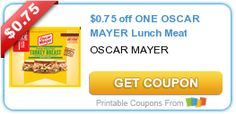 $0.75 off ONE OSCAR MAYER Lunch Meat
