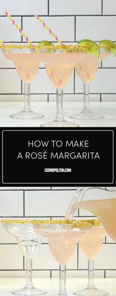 Rose + tequila = happiness.
