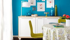 A dresser made with kitchen cabinets | Polos Furniture