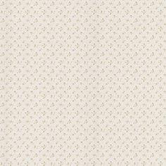 403-49244 Taupe Small Rose Linen - Virginia - Brewster Wallpaper