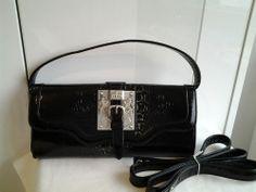 LYDC Black Patent Handbag
