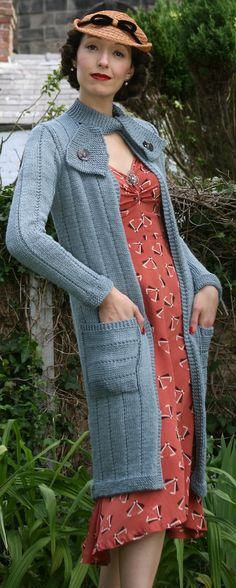 Just Call Me Ruby: Some Pretty Pictures #knitting #cardigan #vintage