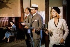 """""""Bonnie i Clyde""""- Gene Hackman, Warren Beatty, Faye Dunaway - 1967.   - galeria zdjęć - Zdjęcie nr. 19"""