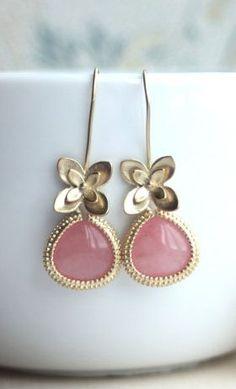 Pink Floral Drops.  How precious!!!