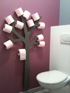 Wall Art Toilet Paper Tree