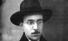 Fernando Pessoa.  Last words, written after losing ability of speech:  I know not what tomorrow will bring.