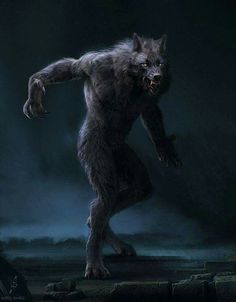 Lycanthrope walking tall!
