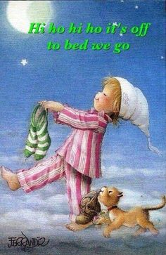 Good night sweet dreams my friend. May God bless you and your family.
