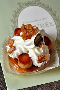 LaDuree Individual St Honore Pastry