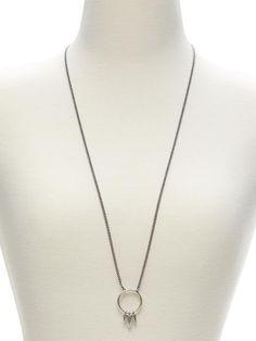 Circle Pendant Necklace Product Image