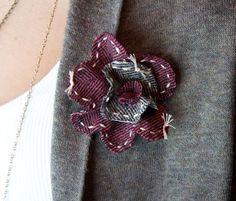 Felt Flower Brooch : : Tutorial - Cynthia Shaffer