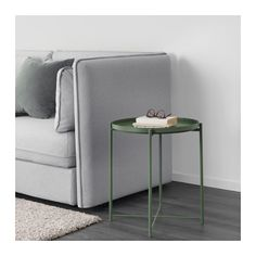 IKEA GLADOM tray table You can use the removable tray for serving.