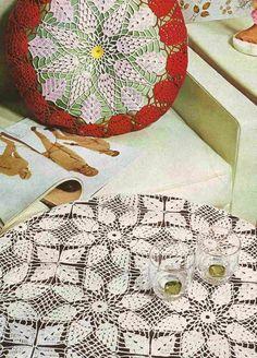 Cojín a Crochet o Ganchillo