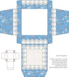 Don't Eat the Paste: Calico Lace set- recipe cards and box Printable Box, Printables, Box Patterns, How To Make Box, Craft Box, Free Coloring Pages, Recipe Cards, Paper Dolls, Decorative Boxes