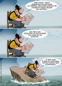 Cartoon: Tragédia no horizonte