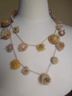 Horcruxe long necklace, Sophie Digard