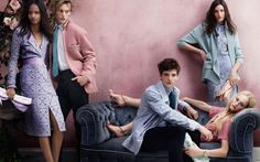 Burberry Prorsum Spring Summer 2014 Campaign | FashionMention