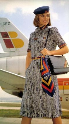Iberia Airline hostess