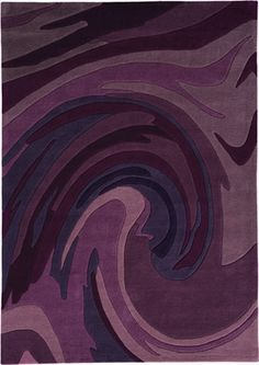 Action Painting 4018 34 Violet Rug From The Pop Art I Collection At Modern Area
