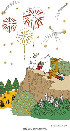 Moomin Wallpaper, Cartoon Wallpaper, Cute Wallpapers, Wallpaper Backgrounds, Iphone Wallpaper, Little My Moomin, Moomin Valley, Cute Cartoon Pictures, Tove Jansson