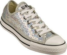 5b9904c3a500 Converse All-Star Silver Sequin Chuck Taylors  Love It or Hate It