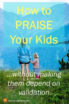 Do you want to be able to praise your kids without making them depend on verbal praise? Learn here the best way to give your kids verbal encouragement while also building up their long term self-esteem. #gentleparenting #positivewords #positivediscipline #peacefulparenting #encouragement
