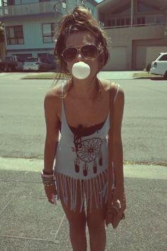 hippie fringe shirts for summer