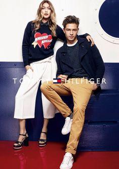 Francisco Lachowski & Gigi Hadid Star in Tommy Hilfiger FW16 Campaign