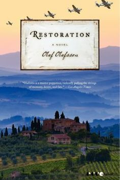 Restoration, by Olaf Olafsson.  In this sweeping story of passion and betrayal, Olafsson works his profound magic once again, creating a novel that grapples with the moral abyss of war while rendering the psychological portraits of those living through it with masterful strokes.