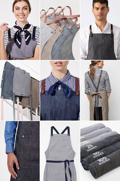 Our exclusive Fight The Fade™️ apron fabric technology gives you style and longevity you can trust – We've tested it! We put our Henry Aprons in Charcoal, Pebble, Mocha & Bluegrain through rigorous testing in the Cargo Crew Labs, and even after over 100 washes this specialty fabric showed no signs of fading 🙌 | Aprons | Heavy Duty Aprons | Designer Aprons