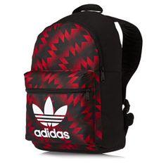 Adidas Originals Backpacks - Adidas Originals Backpack Manchester United FC Backpack - Black/multicolor/white/red